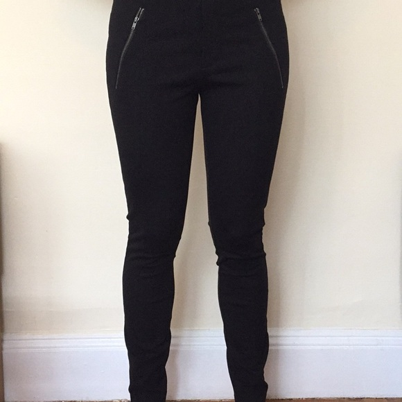 J. Crew Pants - J.Crew black stretchy skinny pants.